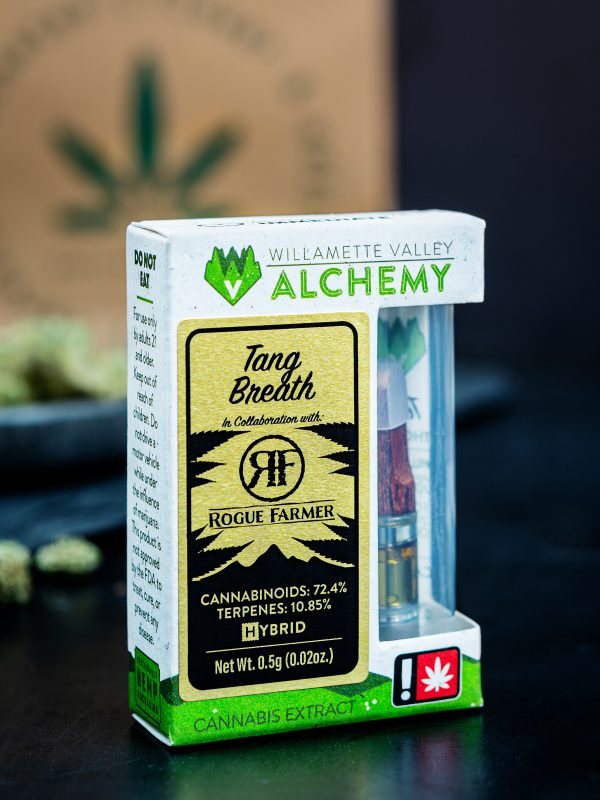 Willamette Valley Alchemy Tang Breath Cannabis Vape Cartridge