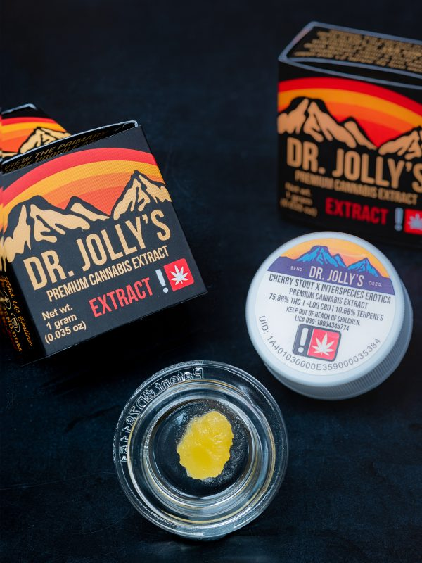Dr. Jolly's Cherry Stout x Interspecies Erotica Extract Concentrate
