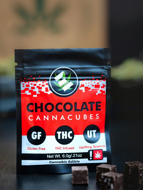 Edibology Uplifting Chocolate Cannacube Edible