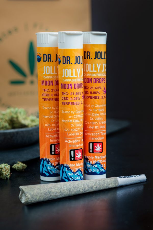 Dr. Jolly's Moon Drop Cannabis Pre-Roll