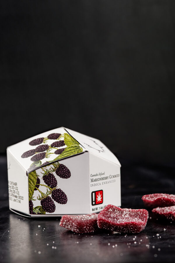 Wyld Marionberry Indica Gummies