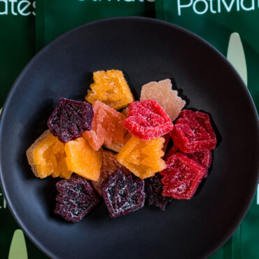 Colorful Cannabis Gummy Edibles