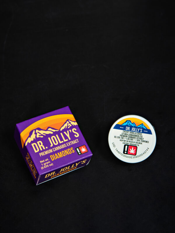 Dr. Jolly's Cherry Vanilla Cooks Diamonds Cannabis Concentrate