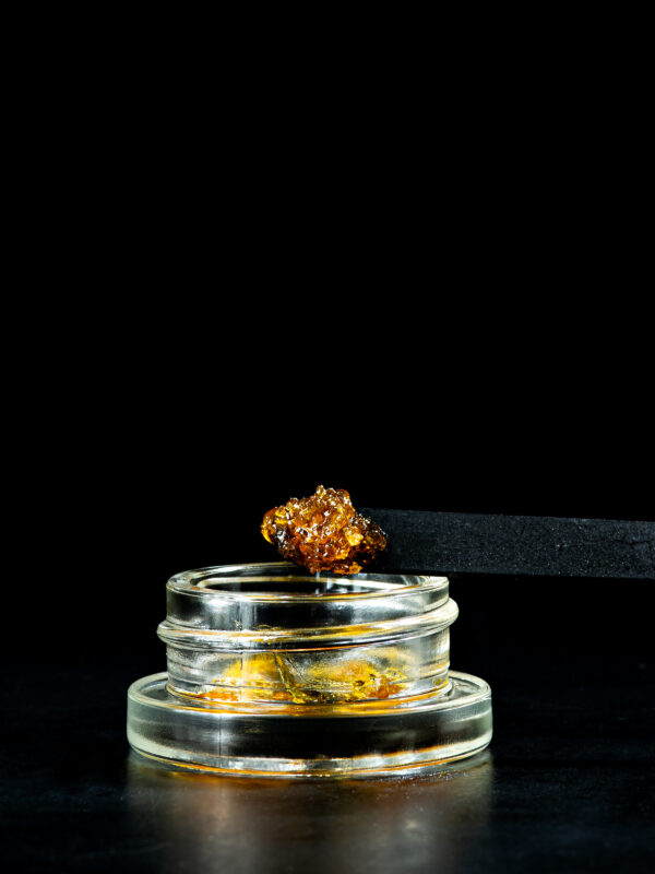 Viola Banana Split Live Resin Cannabis Concentrate Close Up