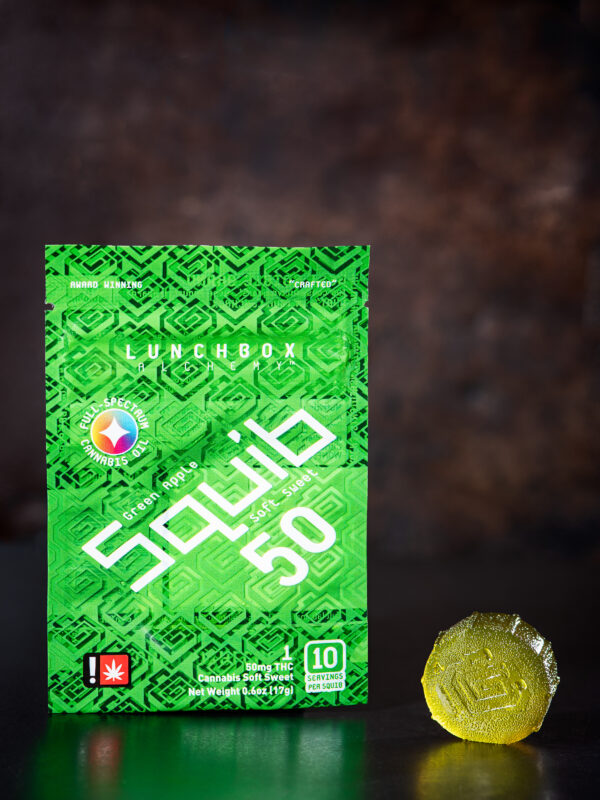 Lunchbox Alchemy Apple squib cannabis gummy