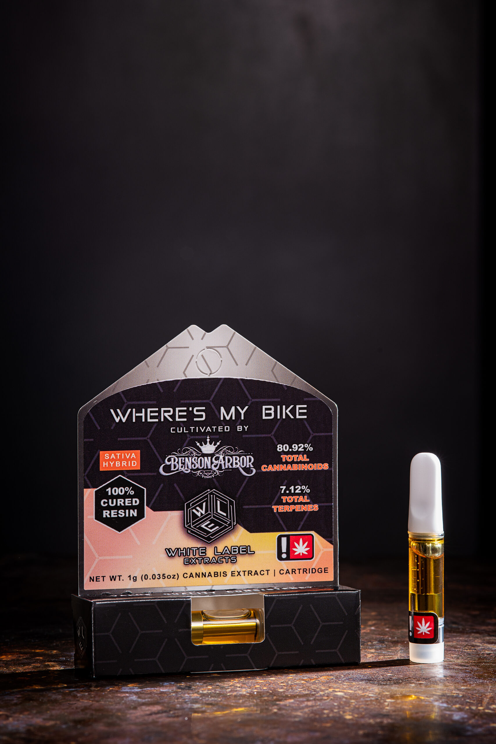 White Label Extracts Wheres my bike cannabis vape cartridge