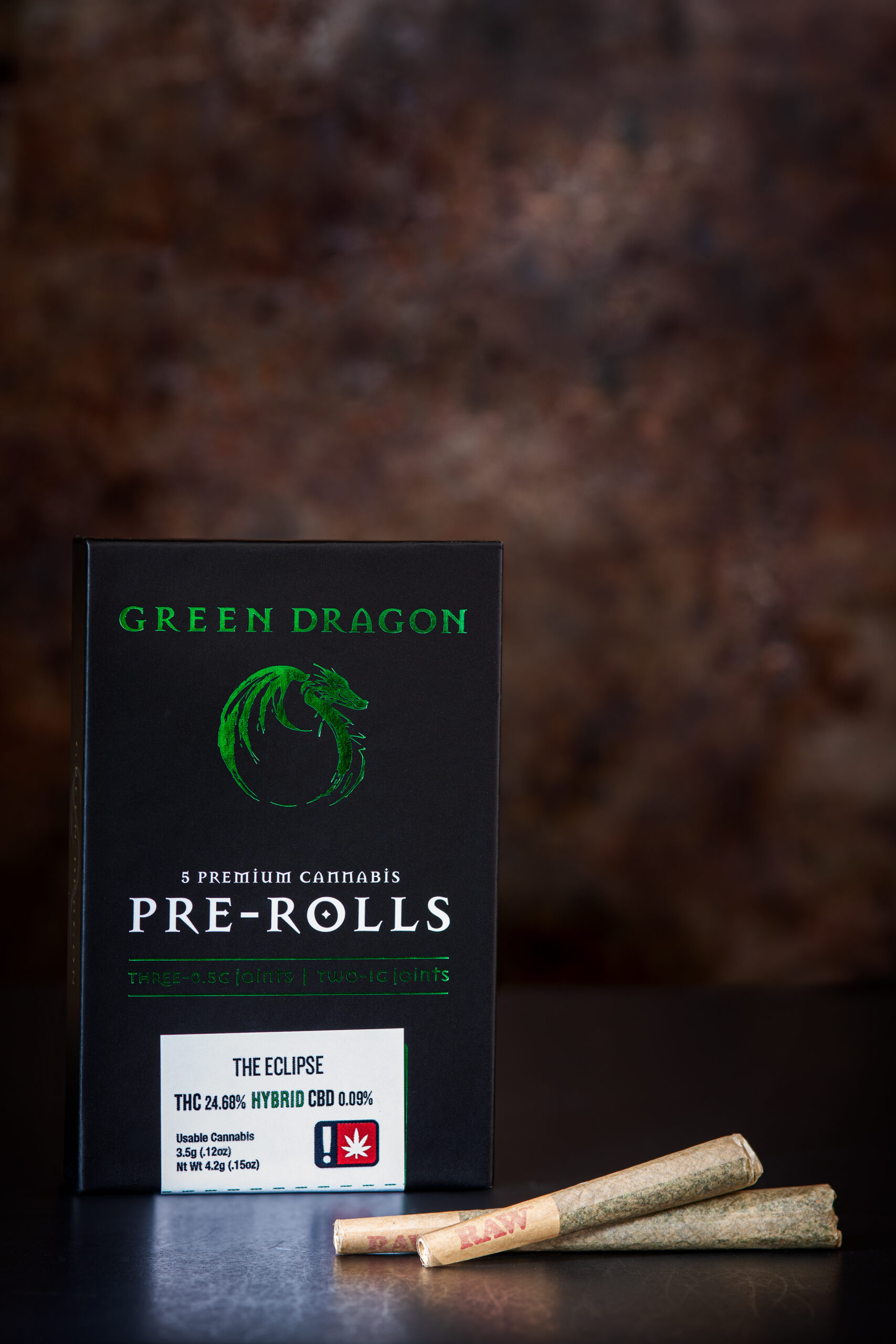 Green Dragon The Eclipse Cannabis Pre Roll Joints