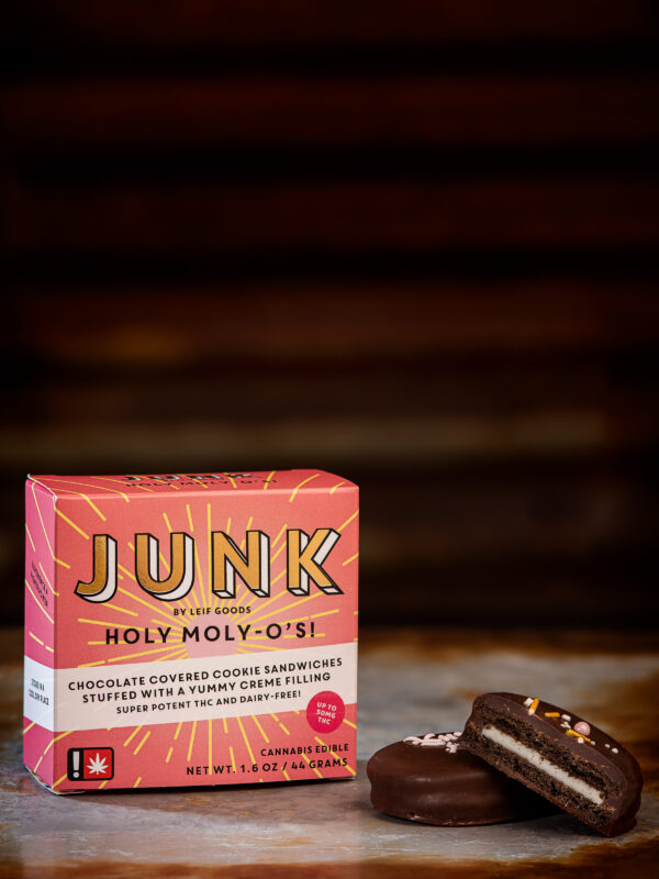 Junk Holy Moly O's Chocolate Cookie Cannabis Edibles