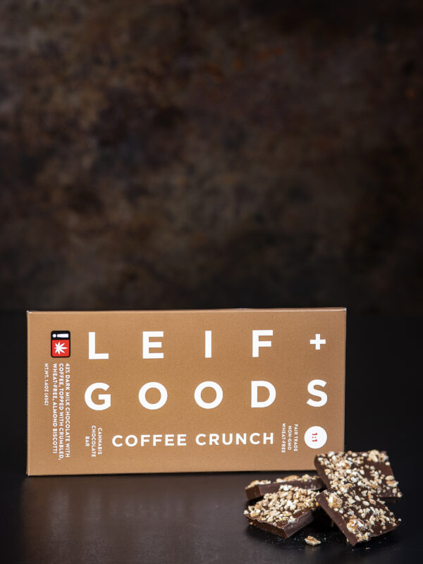 Leif Goods Coffee Crunch Chocolate Candy Bar