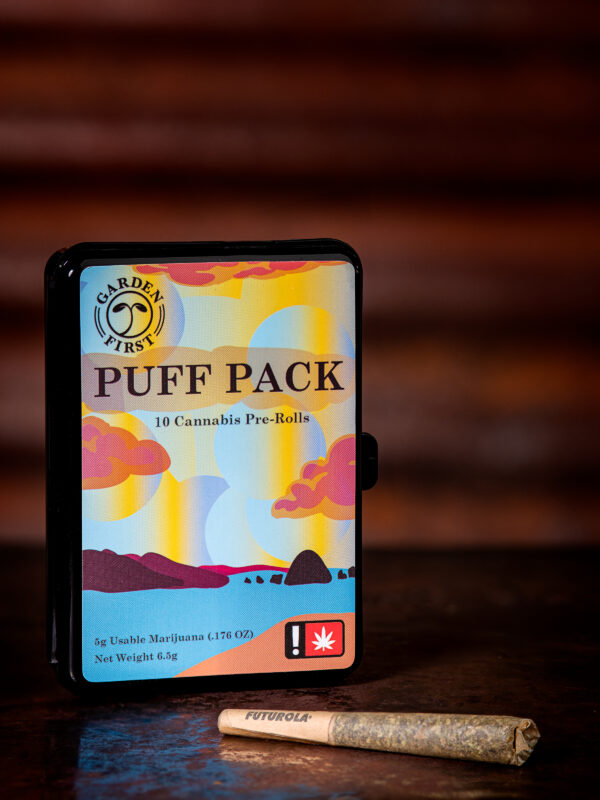 Puff Pack Gelato 33 cannabis pre rolled joints