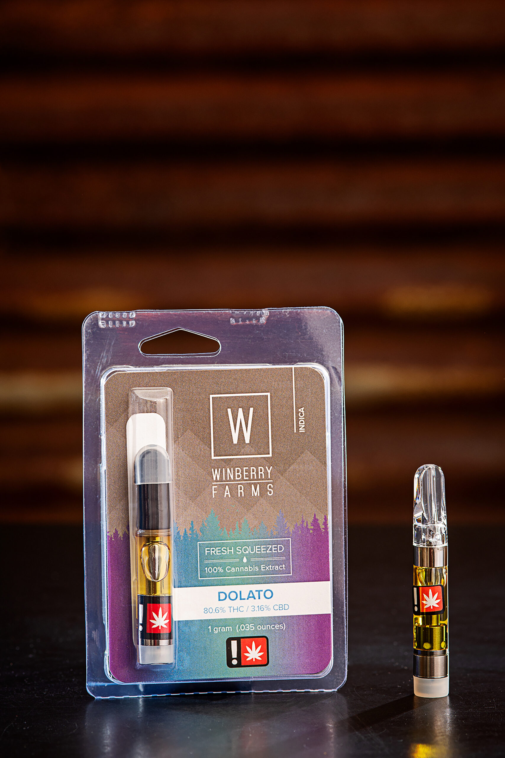 Winberry Farms Dolato Cannabis Vape Cartridge