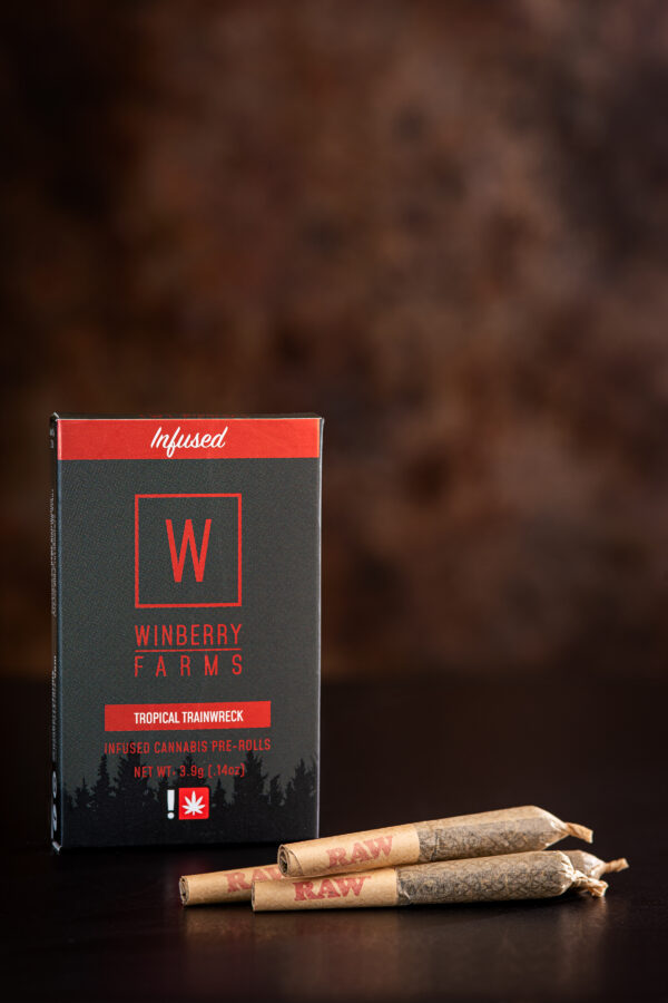 Windberry Farms Tropical Trainwreck Infused Cannabis Prerolls