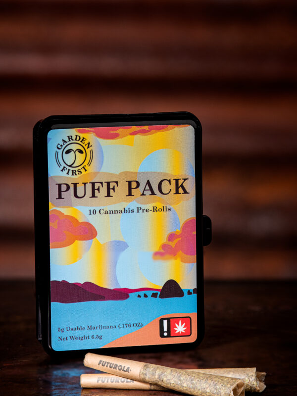 Puff Pack Chiesel cannabis pre rolled joints