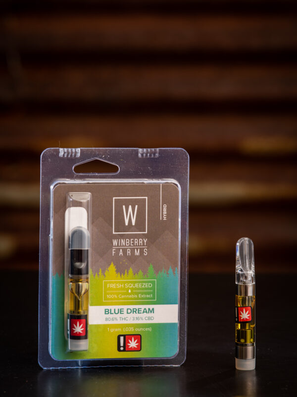 Winberry Farms Blue Dream Cannabis Vape Cartridge
