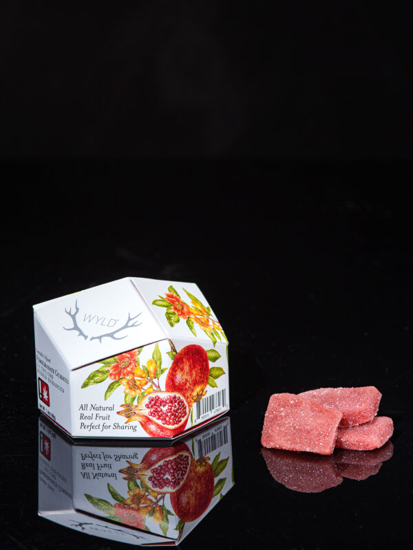 WYLD Pomegranate Cannabis Gummies