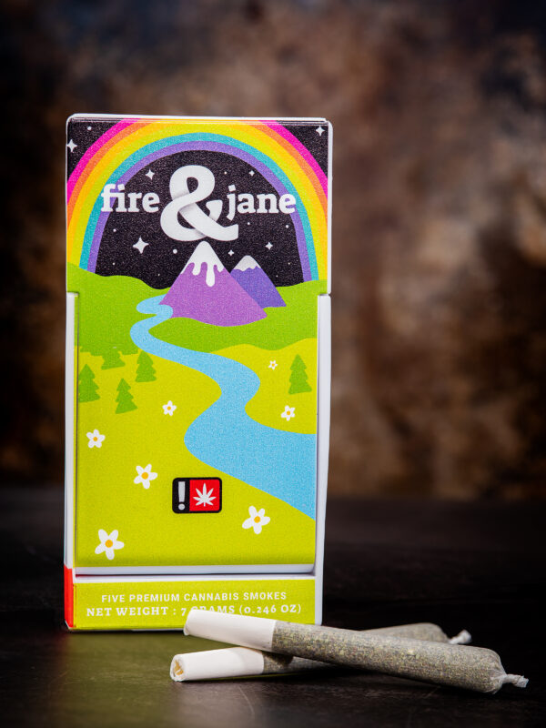 Fire and Jane Snowland Cannabis Pre roll