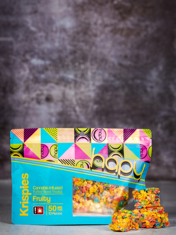 Hapy Fruity Krispies edible delivery port;amd